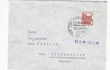 Adenauer Konrad Dr. 90 ans belle SST de 1966