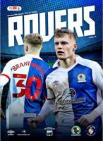 Blackburn Rovers V Luton Town Championship 30-1-21 - Electronic Programme RARE