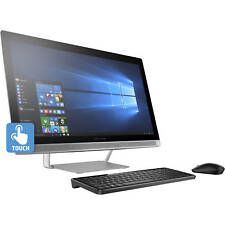 """HP PAVILION 27-A210 27"""" FHD ALL IN ONE TOUCH INTEL CORE i7-7700T 12GB 1TB WIN 10"""