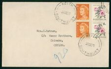 Mayfairstamps Australia 1970 Keith to Ceylon Colombo Cover wwr26991