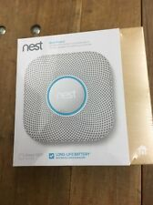 NEW Nest Protect 2nd Generation (Battery) Smart Smoke/Carbon Monoxide Alarm