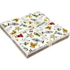 "Maywood Studio  ~Christmas Joys Flannel~10"" x 10"" Squares ~100% Cotton~ 42 piece"
