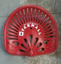 McCormick Farmall Cast Iron Vintage International Harvester Tractor Seat