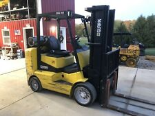 2013 Clark Cgc40 Lp Forklift 7k Lift Capacity