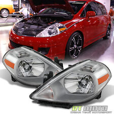 For 2007-2012 Versa Replacement Headlights Replacement 07-12 Headlamp Left+Right