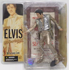 1956 Elvis Presley Action Figure Doll The Year in Gold McFarlane Toys NIB