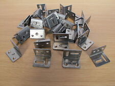 200 pack of Angle brackets steel stretcher shrinkage plate 25mm x 28mm x 35mm