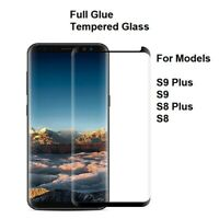 Full Glue Tempered Glass Screen Protector Film For Samsung Galaxy S9 S8 S9+ S8+