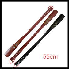 Useful Flexible Long Handle Shoehorn Shoe Horn Stick Wooden 55cm/21.5''