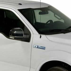 Dallas Cowboys NFL 2 Pack Aluminum Emblem Car Truck Edition Decal Sticker