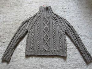 Prada Pullover Rollkragen, taupe, 100% Wolle, Gr. XL