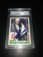Mike Modano Signed 1993-94 Topps North Stars Card PSA Slabbed #83428682