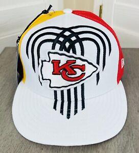New Era 59Fifty NFL Kansas City Chiefs City Flag 2019 Draft Hat Size 7 3/8 - NWT