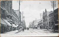 Spokane, WA 1910 Postcard: Sprague Avenue / Downtown - Washington State