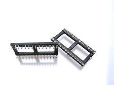 Convertido Pin IC Socket 28 vías (corto Stubby Pins) 2 piezas OM1009