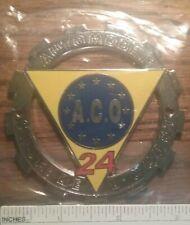 Automobile Club De L'Oranie ACO 24 Car Badge