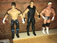 WWE Mattel  Evan Bourne Dean Ambrose Dolph Ziggler Wrestling Action Figure