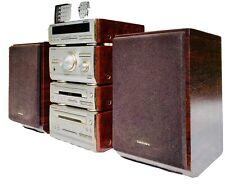 Technics SE-HD 501 micro hifi system. bi-wire speakers, remote, cables. Superb!