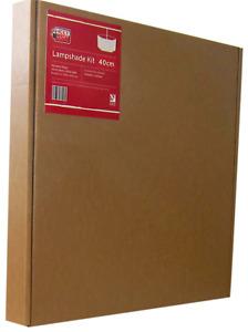 Need Craft Hexagon Lampshade Making Kits 4 sizes 15cm, 20cm, 30cm, or 40cm