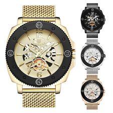 BAGARI Business Man Hollow Dial Wristwatch Waterproof Quartz Stencil Watch Gift