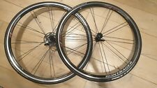 Bontrager SSR bicycle wheel set front and rear 10 speed shimano Black 700c QR