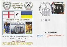 20 SEPTEMBER 2007 EVERTON v FC METALIST KHARKIV UEFA CUP DAWN FOOTBALL COVER