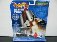Hot Wheels Action Pack John Glenn Great American Hero AND Vintage Diecast United