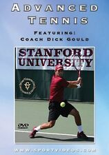 Advanced Tennis DVD - with Coach Dick Gould 17 national titles at Stanford