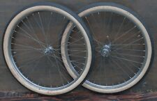 """26"""" Prewar Bicycle WHEELS Tires NewDeparture Hub Vintage Roadmaster Schwinn Bike"""