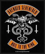 AVENGED SEVENFOLD - Patch Aufnäher - Biker 8x10cm