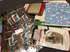 Assortment Of Gift Basket Supplies