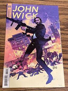 John Wick 1 Cowan & Sienkiewicz Cover B Dynamite Comics 2017 NM+ KEY RARE PRINT