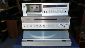 MCS SERIES Components - Stereo Receiver, Cassette, Turntable, Tested Operational