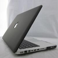 "Black Rubberized Matt Hard Case Cover for MacBook AIR 11 13""/ PRO 13 15'' Retina"