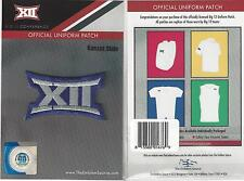 Kansas State Big 12 Conference Jersey Uniform Patch 100% Official Football Logo