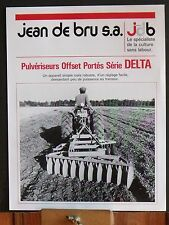 ▬►Prospectus Pulvérisateur Offset Porté Delta JDB Jean de Bru Someca Massey IH