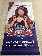 Sasha Banks Street Banner of WWE Wrestlemania 32 Arlington Texas AT&T Stadium