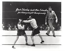 JACK SHARKEY BEATS MAX SCHMELING 8X10 PHOTO BOXING PICTURE