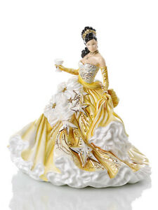 THE ENGLISH LADIES CO CONGRATULATIONS GOLD DOLL FIGURINE, NEW AND BOXED