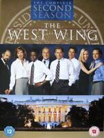 THE WEST WING COMPLETE SERIES 2 DVD Second 2nd Season Two Original UK ReleNEW R2