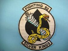 VIETNAM WAR PATCH, US NAVY FIGHTING SQUADRON VF- 92 SILVER KING