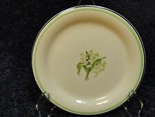 """Homer Laughlin Eggshell Swing Lily of the Valley Bread Plates 6"""""""