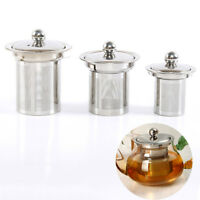 Stainless Mesh Tea Infuser Strainer Loose Tea Leaf Filter Sieve For Cup Teapot .