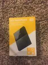 Western Digital My Passport 2TB External Harddrive