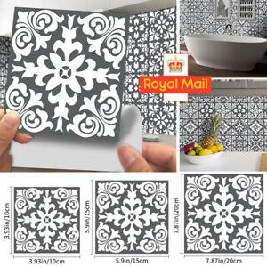 Kitchen Tile Stickers Bathroom Mosaic Sticker Self-adhesive Wall Home Decor 24X
