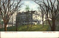 Stafford Springs CT House c1910 Postcard