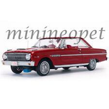 SUN STAR 4544 1963 FORD FALCON HARD TOP 1/18 DIECAST MODEL CAR RANGOON RED