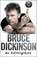 WHAT DOES THIS BUTTON DO? Paperback Autobiography Bruce Dickinson Iron Maiden