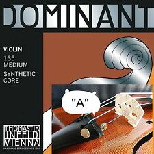 New*** Thomastik Dominant 4/4 Full Size Violin Strings -Single  A String