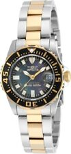Invicta Swiss Pro Diver Womens Limited Edition Gold Plated Stainless Steel Watch